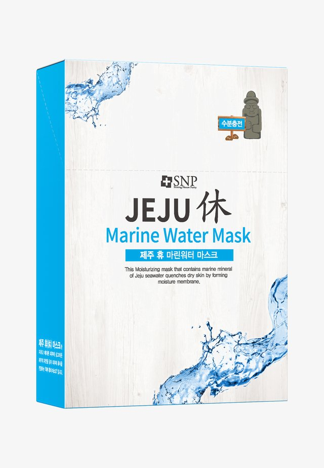 SNP JEJU REST MARINE WATER MASK 10 PACK - Face mask - -