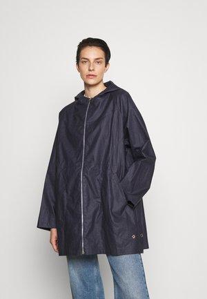 URSULE WATER REPELLENT - Classic coat - indigo