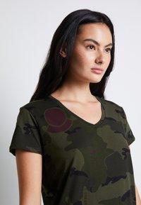 G-Star - T-shirt print - khaki - 6