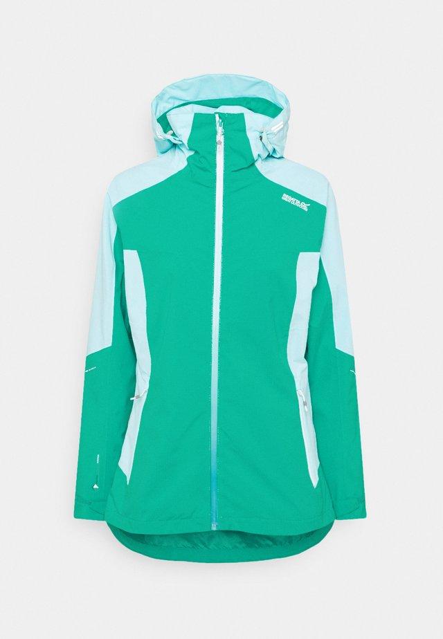 OKLAHOMA VI - Giacca hard shell - turquoise