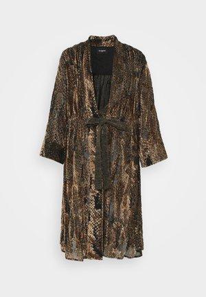 KIMONO - Summer jacket - brown