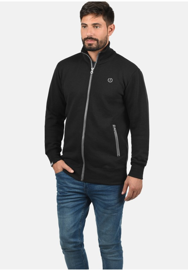 BENNTRACK - Zip-up hoodie - black