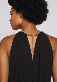 MICHAEL Michael Kors - CHAIN NECK MIDI DRESS - Cocktail dress / Party dress - black - 7