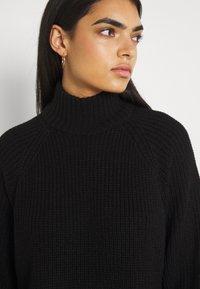 Noisy May - NMTIMMY DRESS - Strikket kjole - black - 6