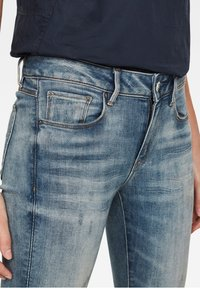 G-Star - Jeans Skinny Fit - antic faded lapo blue destroyed - 2