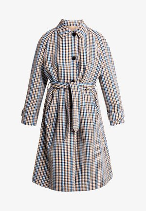 REVERSIBLE HOUNDSTOOTH - Trenchcoat - multi
