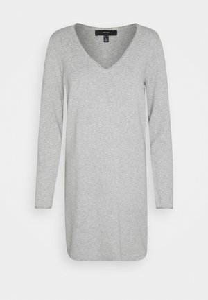 VMDIANE V NECK DRESS  - Etuikjole - light grey