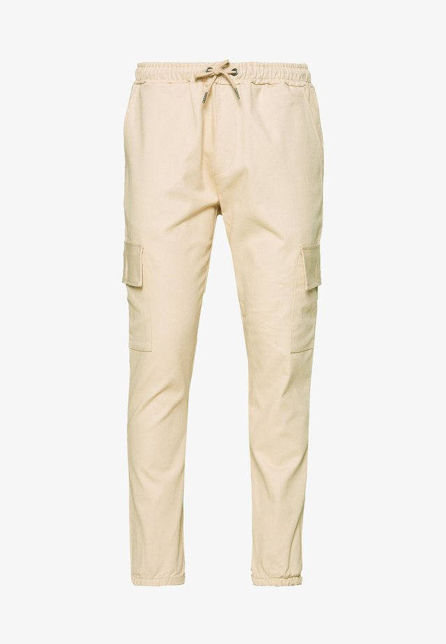CARTEL - Pantalon cargo - tan