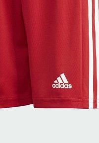 adidas Performance - SQUADRA 21 SHORTS - Pantalón corto de deporte - red - 4
