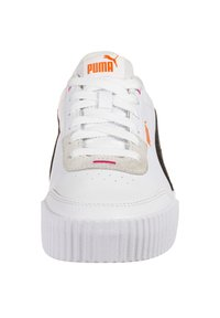 Puma - CARINA LIFT  - Sneakers laag - black /white / glowing pink - 6