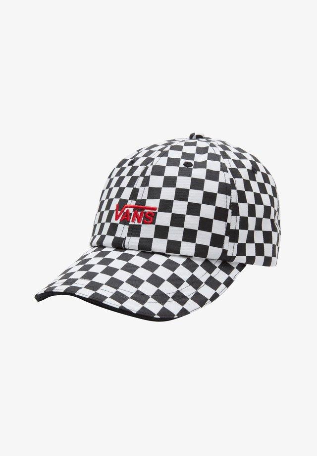 WM HIGH STANDARD HAT - Casquette - black/white checkerboard