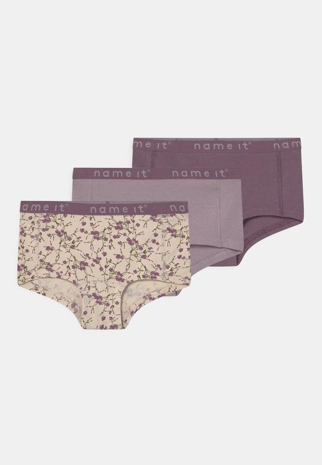 NKFHIPSTER 3 PACK - Underkläder - nirvana