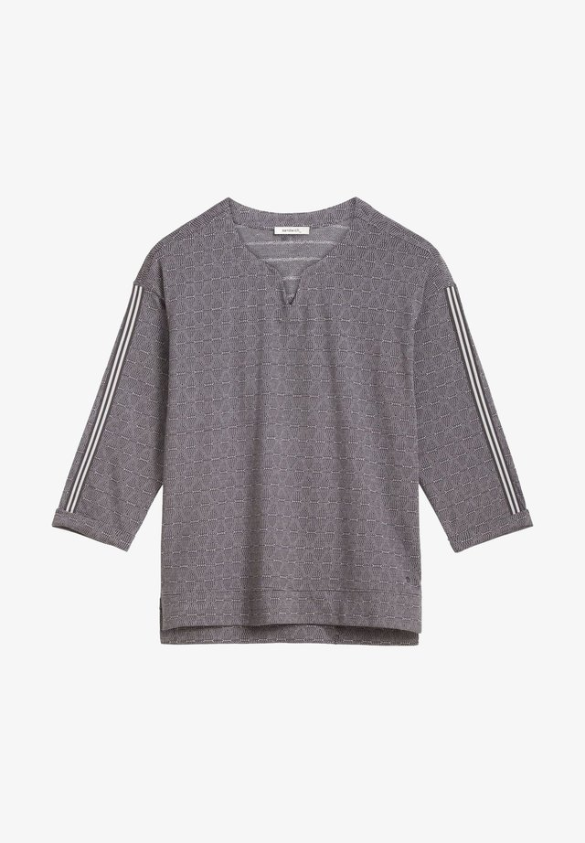 Long sleeved top - dunkelgrau