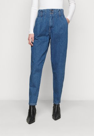 ONLPLEAT CARROW TALL - Jeans Skinny Fit - medium blue denim