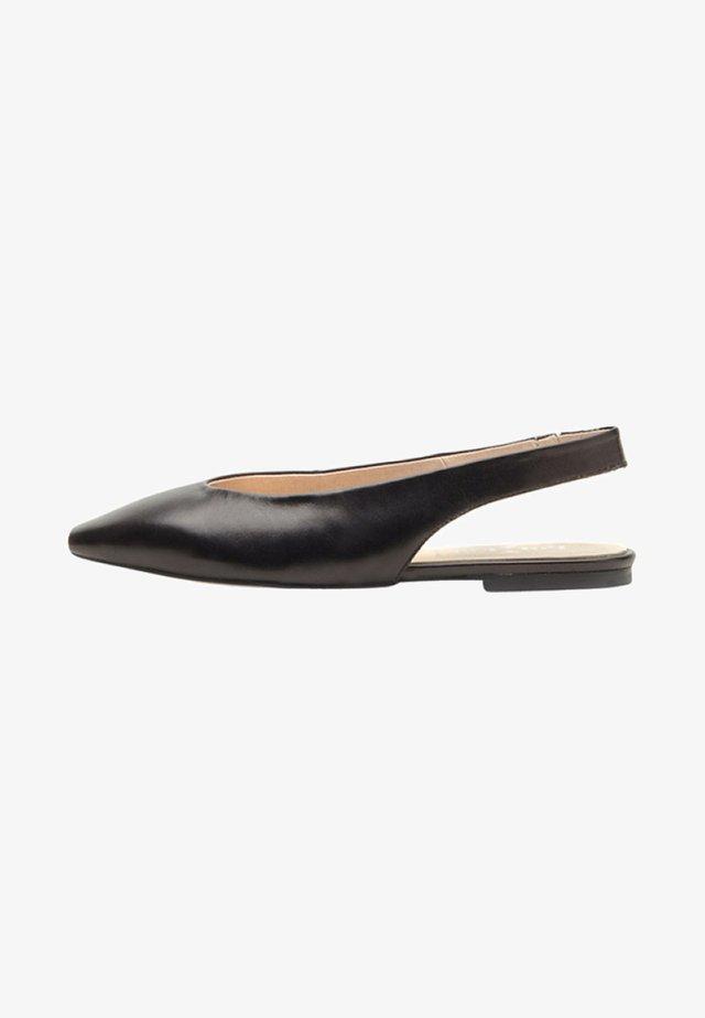 MARLIS - Slingback ballet pumps - black