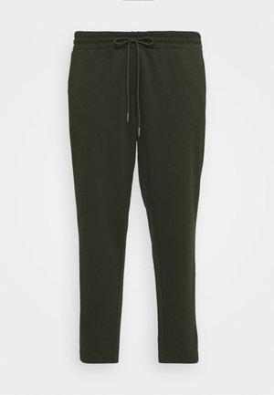 LOOSE FIT PANTS - Tracksuit bottoms - rosin green
