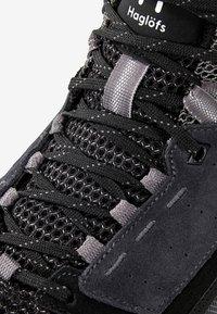 Haglöfs - SKUTA MID PROOF ECO - Hiking shoes - black - 5