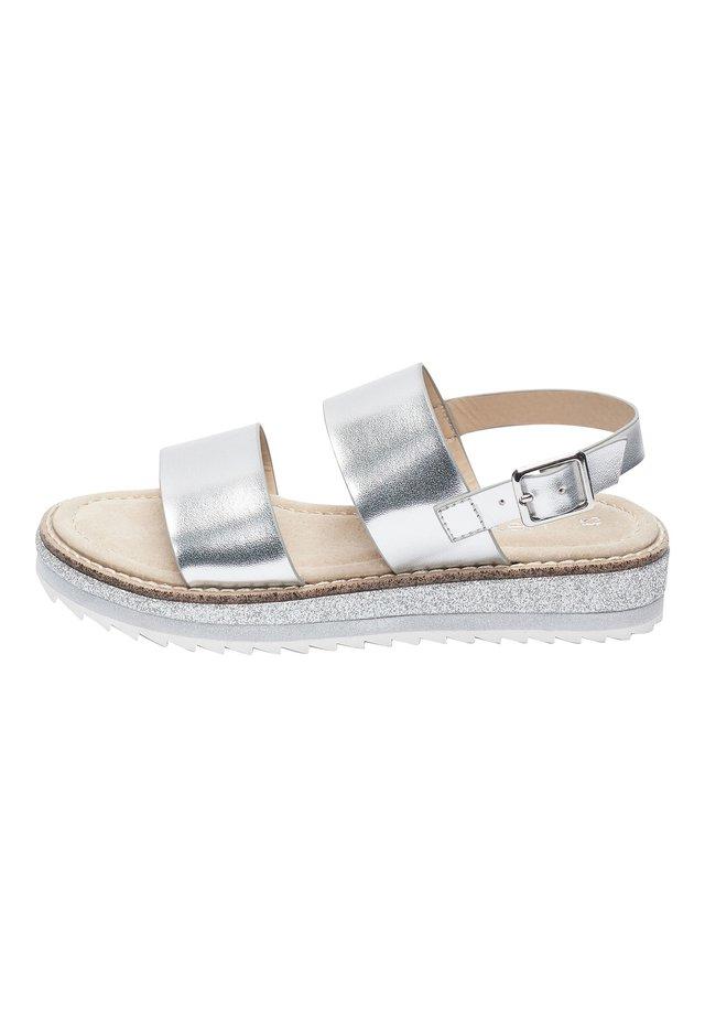 HEATSEAL  - Sandalen - silver