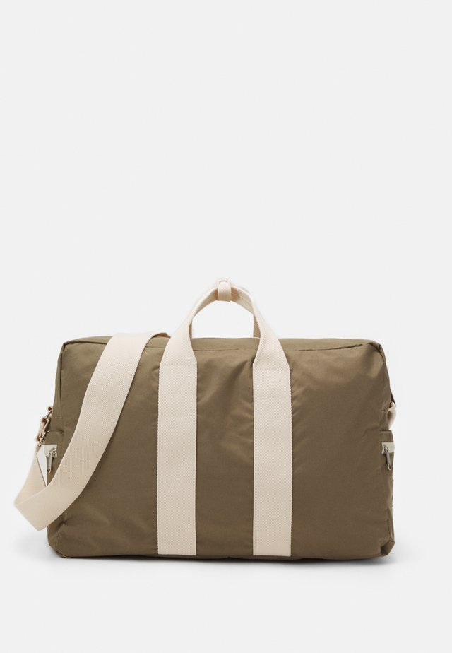 BOSTON BAG UNISEX - Sporttas - grey/beige