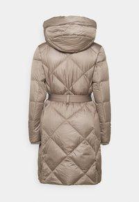 Lauren Ralph Lauren - MATTE FINISH COZY BELTED COAT - Down coat - taupe - 1