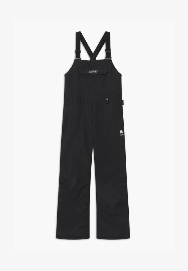 SKYLAR UNISEX - Zimní kalhoty - true black