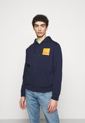 TECH - Zip-up hoodie - cruise navy
