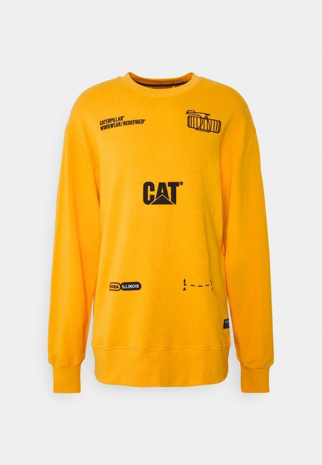 MACHINERY ROUNDNECK - Sweater - yellow