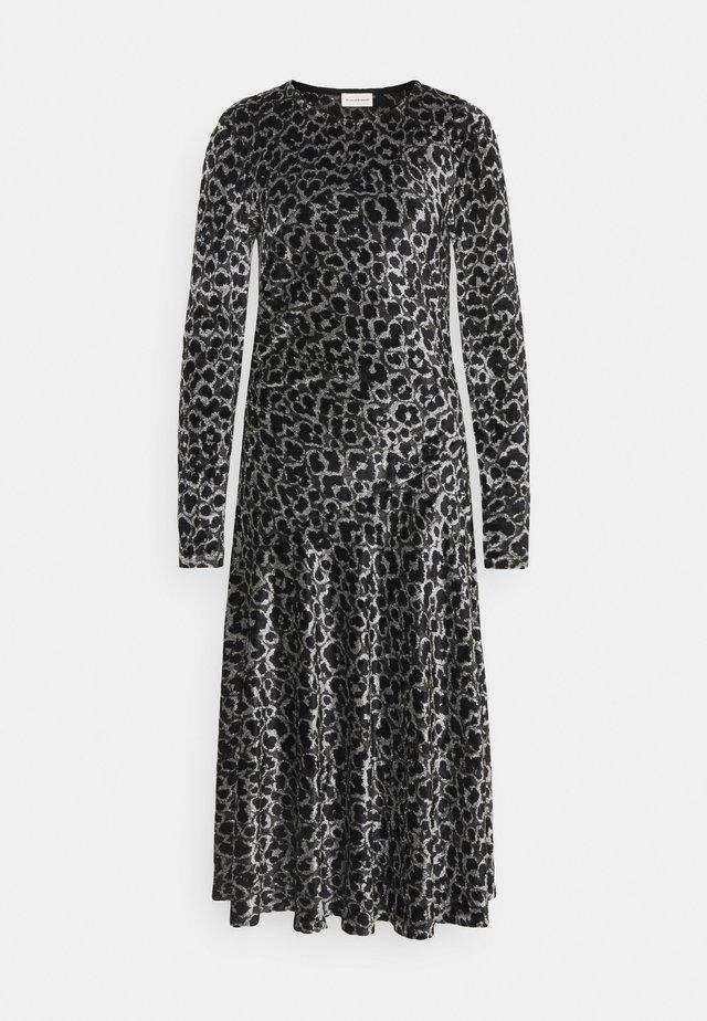 ISABELLIS - Sukienka letnia - dark grey melange