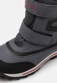 Timberland - CHILLBERG - Winter boots - medium grey/red - 5
