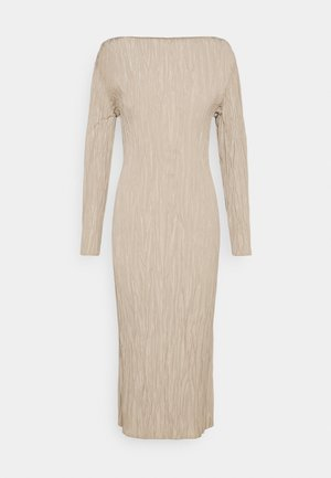 DRESS - Korte jurk - beige