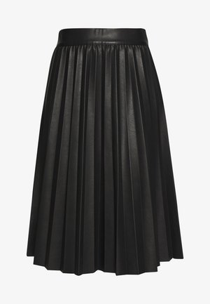 NEW SKIN STELPA - Spódnica trapezowa - black