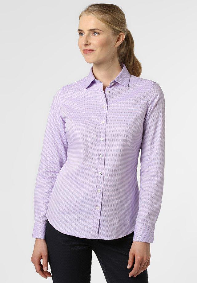 Button-down blouse - rosa flieder