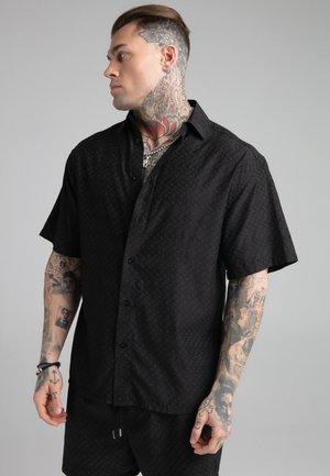 REPEAT RESORT SHIRT - Skjorta - black