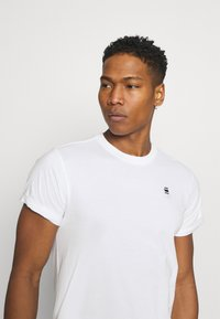 G-Star - LASH 2 PACK - Basic T-shirt - white - 4