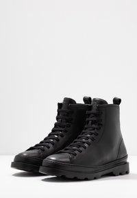 Camper - BRUTUS - Lace-up ankle boots - black - 4