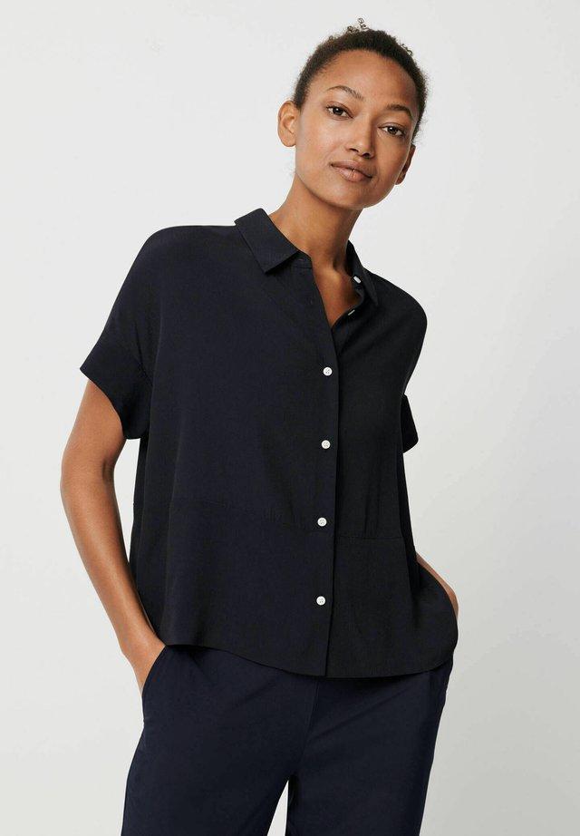 ZARKO - Button-down blouse - bleu