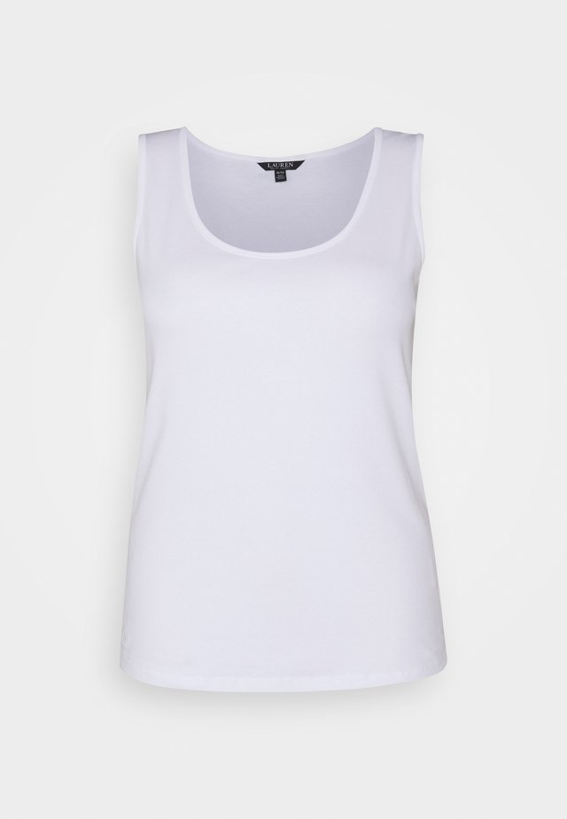 KELLY SLEEVELESS - Débardeur - white