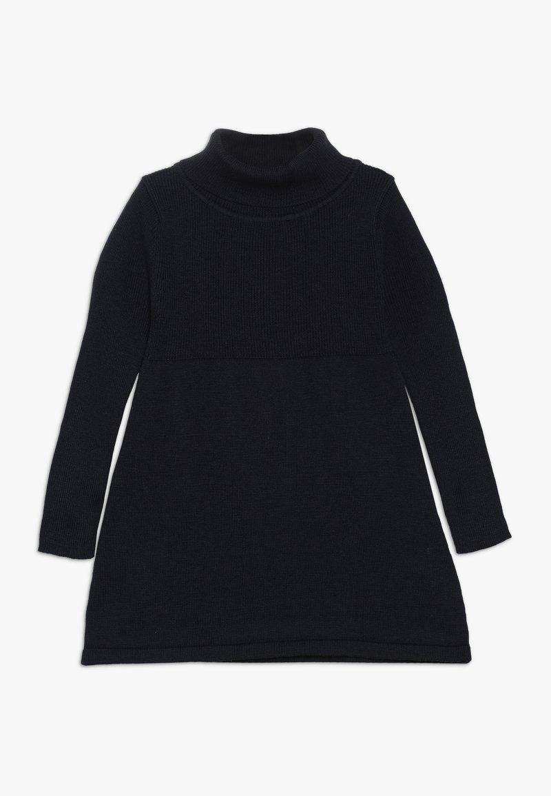 Blue Seven - KIDS ROLLNECK DRESS - Jumper dress - dark blue