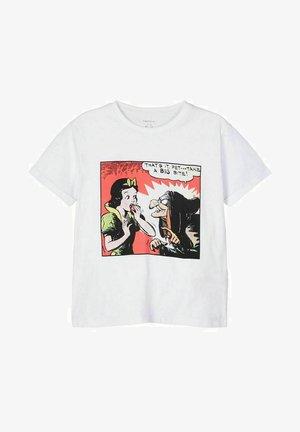DISNEY - Print T-shirt - bright white