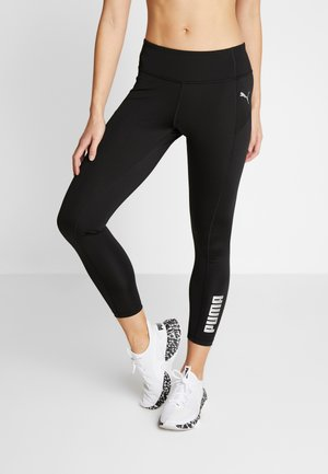 LOGO - Leggings - puma black