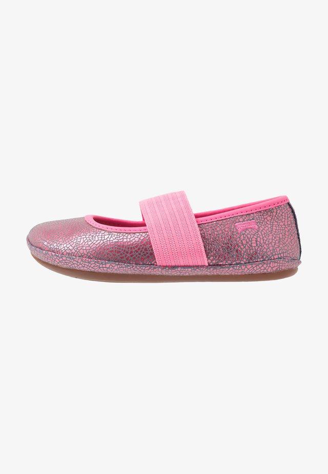 RIGHT - Ballerina's met enkelbandjes - pink