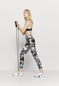Under Armour - PRINT ANKLE CROP - Tights - black - 1