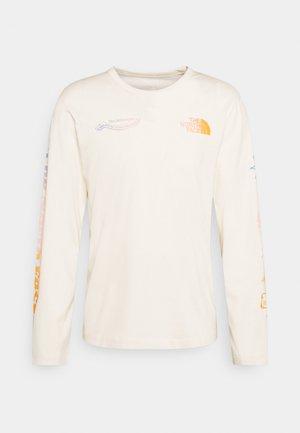 HIMALAYAN BOTTLE SOURCE - Maglietta a manica lunga - vintage white