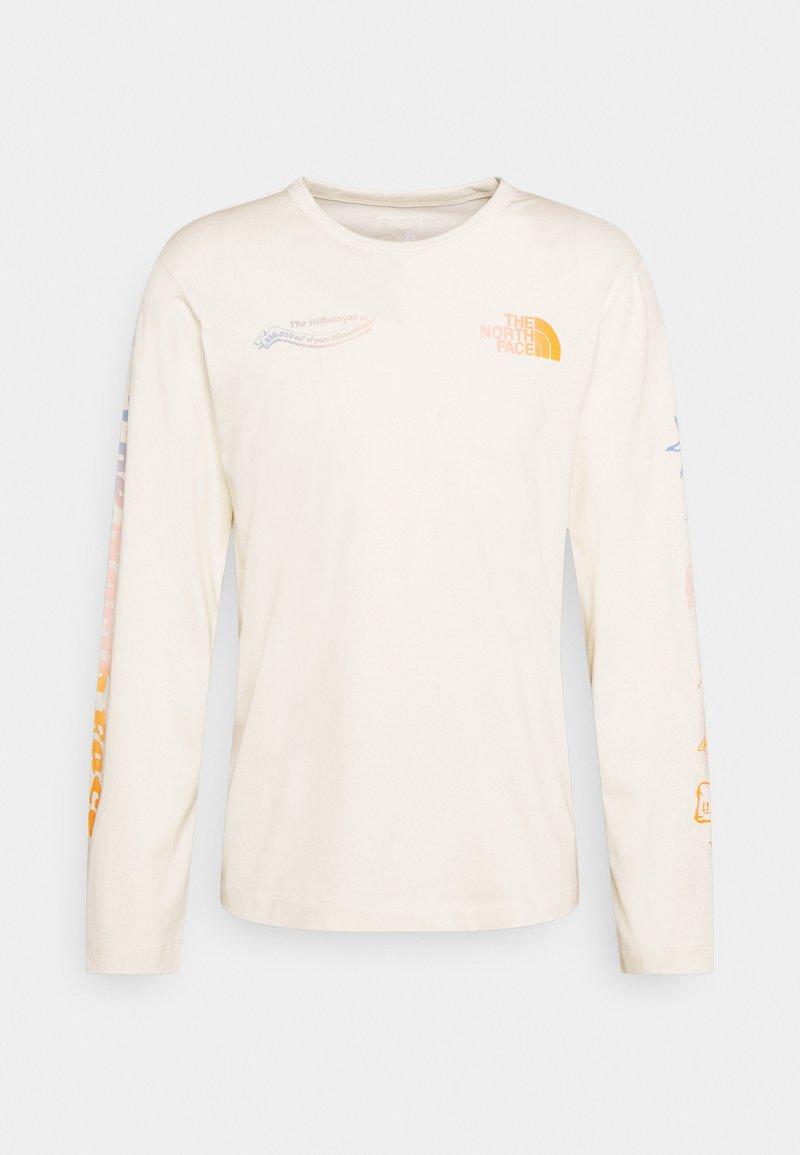 The North Face - HIMALAYAN BOTTLE SOURCE - Camiseta de manga larga - vintage white