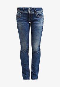 JONQUIL - Straight leg jeans - blue lapis wash