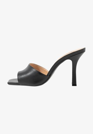 MANTRA - Heeled mules - black