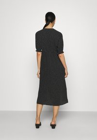 Monki - REESE DRESS - Day dress - black/off white - 2