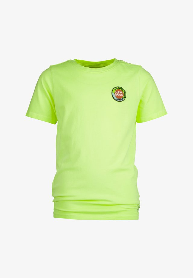 HARVEY - T-shirt con stampa - chill yellow