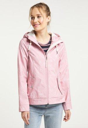 Outdoor jacket - pfirsichrosa