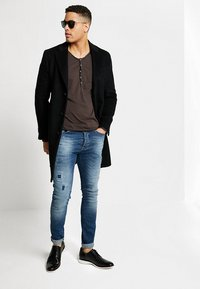 Cars Jeans - ARON - Jeansy Skinny Fit - dark used - 1